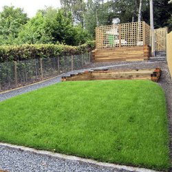 Landscaped rear garden Perth, Scotland by Elston Landscapes